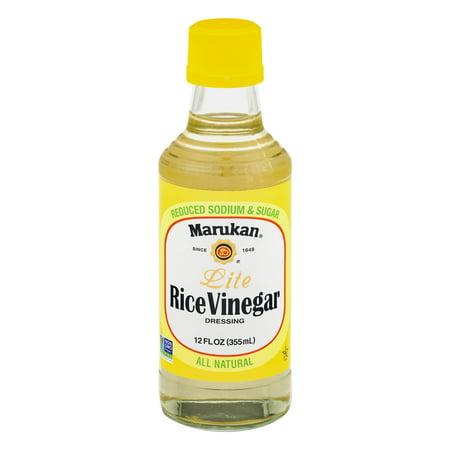 (2 Pack) Marukan Lite Rice Vinegar Dressing, 12.0 Fl Oz Honey Vinegar Dressing