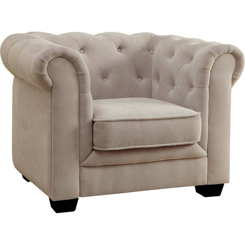 Furniture of America Hera Tufted Kids Chair, Multiple Colors