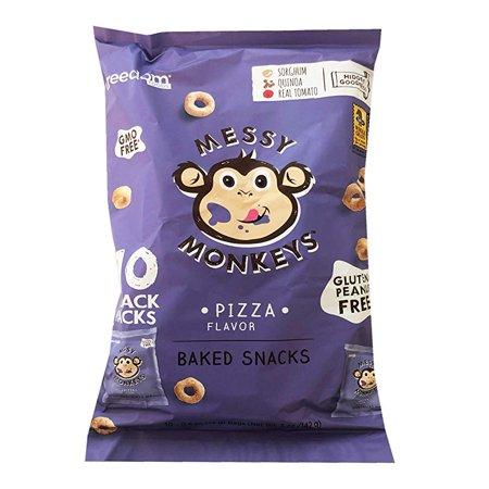 Freedom Messy Monkeys Whole Grain Sharing Pack (10 mini packs) 5oz