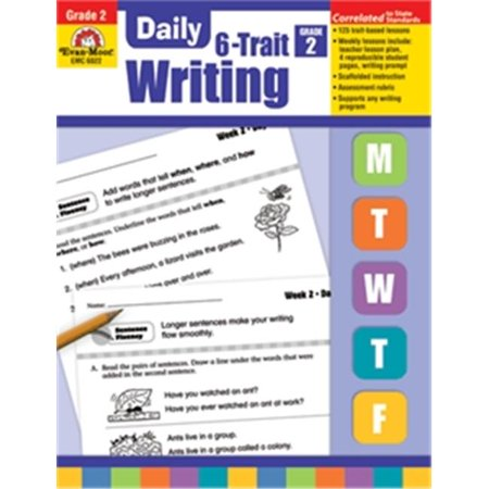 Evan-Moor Educational Publishers 6022 Daily 6 Trait Writing - Grade 2 - image 1 of 1