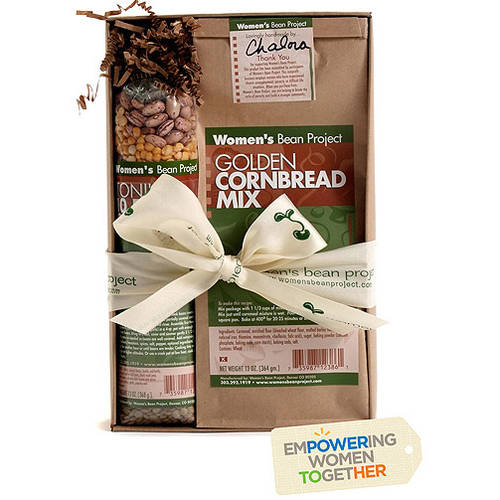 Women's Bean Project Soup Mix and Cornbread Mix Gift Set