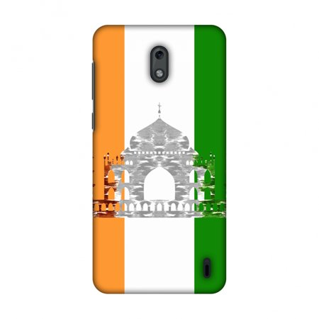Nokia 2 Case, Ultra Slim Designer Snap On Hard Shell Case Back Cover with Screen Cleaning Kit for Nokia 2 - The Taj Mahal- India (Nokia C6 01 Price In India Today)