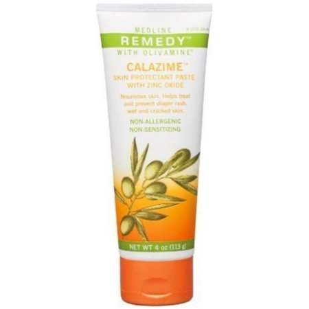 Remedy Olivamine Calazime Skin Protectant Paste  4 oz (Pack of (Best Remedy For Skin Rash)