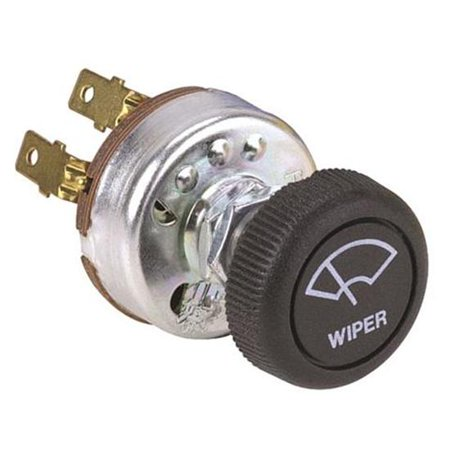 New Universal Windshield Wiper Motor Switch w Knob 2 Speed - Street Hot (Universal Wiper Switch)