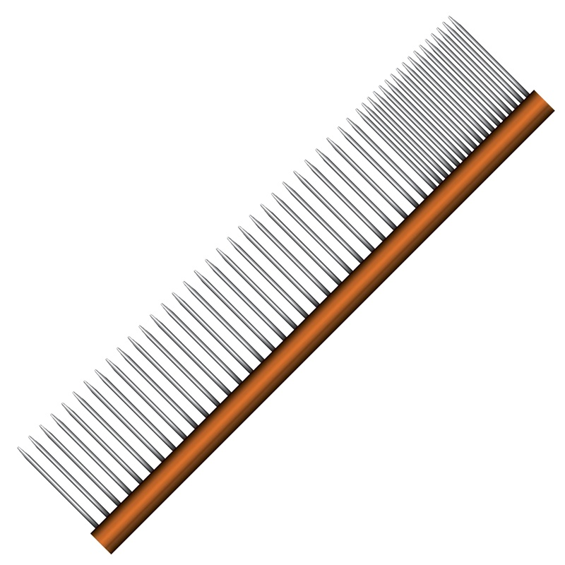 "Wahl Professional Animal 8"" Metal Finishing Comb"