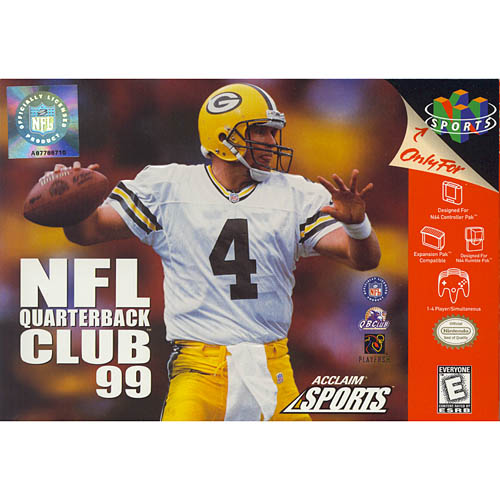 Image of NFL Quarterback Club '99 N64