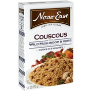 Near East Wild Mushroom & Herb Couscous, 5.4 oz (Pack of 12)