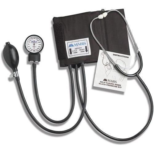 HealthSmart Self-Taking Home Blood Pressure Kit, Large Adult