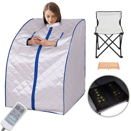 Portable Far Infrared Sauna Spa Full Body Detox (Best Infrared Sauna Consumer Reports)