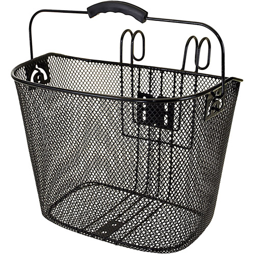 Ventura Easy-Mount Mesh Bicycle Basket