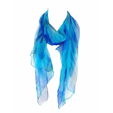 Zodaca Fashion Women Ladies Lightweight Soft 100% Silk Scarf Wrap Shawl for Women