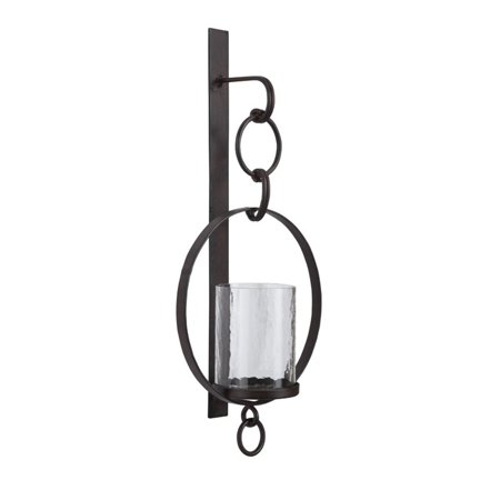 Ashley Furniture Ogaleesha Candle Wall Sconce in Brown - image 2 of 2