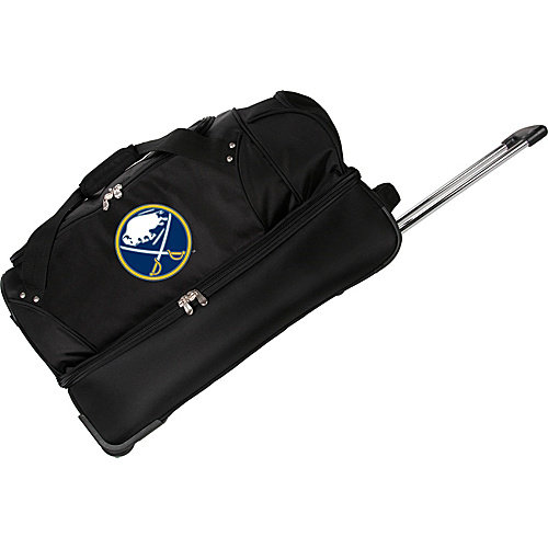 "Denco Sports Luggage NHL Buffalo Sabres 27"" Drop Bottom Wheeled Duffel Bag"