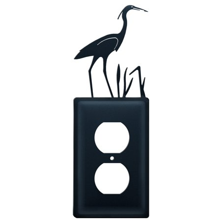 Village Wrought Iron Eo 133 Heron Single Outlet Cover