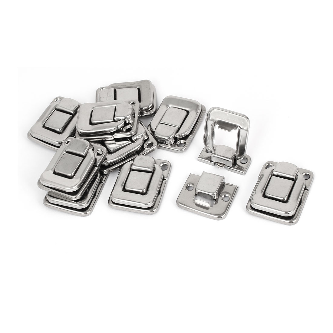 Toolbox Stainless Steel Box Toggle Latch Hasp 38mm Length 10pcs