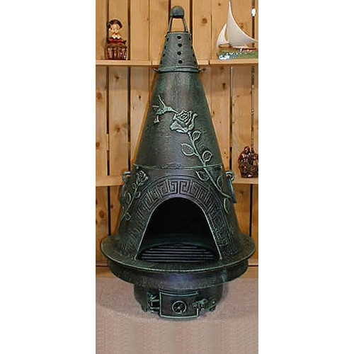 Blue Rooster Aluminum Natural Gas / Propane Chiminea