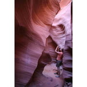 Framed Art for Your Wall Antelope Canyon Utah Gorge Nature Stone Sand Stone 10x13 Frame