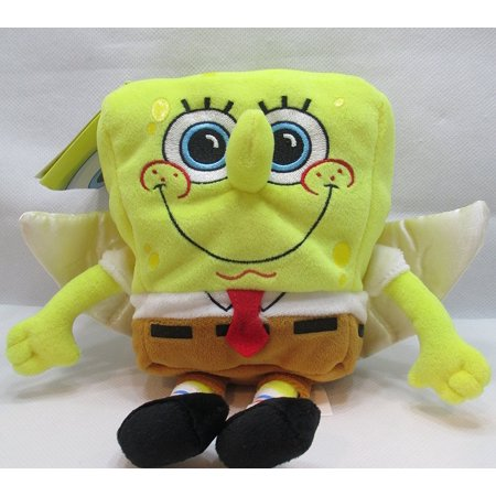 Nickelodeon Spongebob Squarepants Spongebob Angel Bean Plush By By Jakks Pacific
