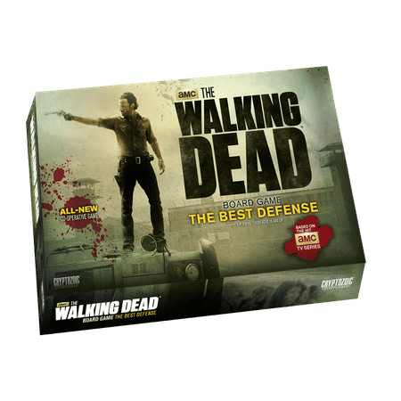 Walking Dead -The Best Defense Board Game (Best Of Luck Games)