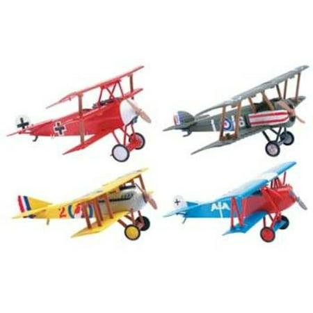 - 20227 Classic Bi-Plane Model Kit (12)