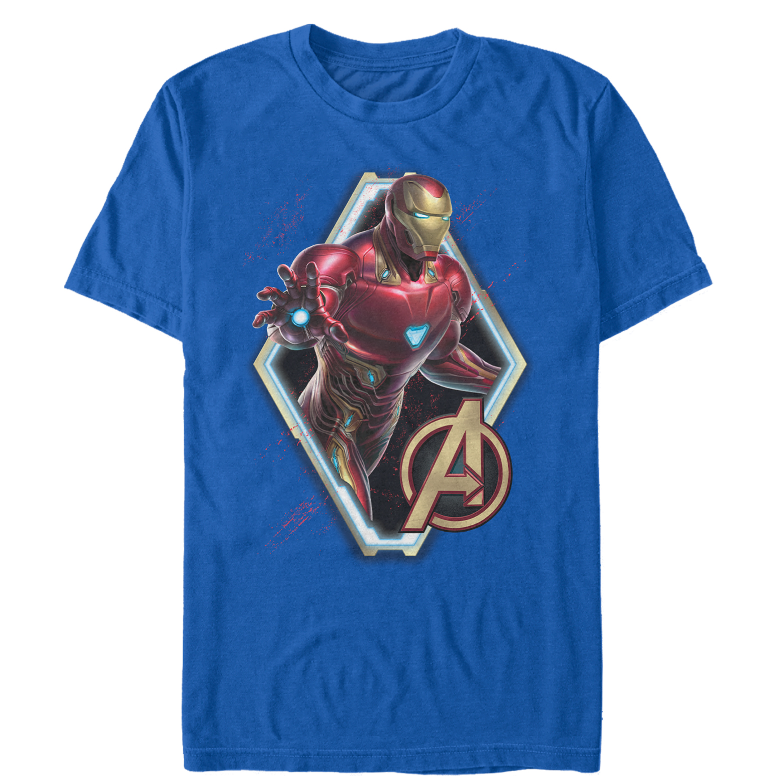 Marvel Men's Avengers: Endgame Iron Man Frame T-Shirt