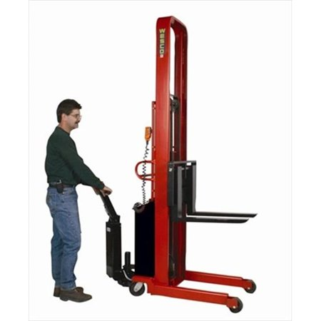 Pspl-90-2427-20S-Pd 2000 lbs. Powered Platform Stacker With Power Drive System