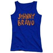 Johnny Bravo Jb Logo Juniors Tank Top Shirt
