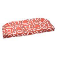 Pillow Perfect Outdoor/ Indoor Carmody Mango Wicker Loveseat Cushion