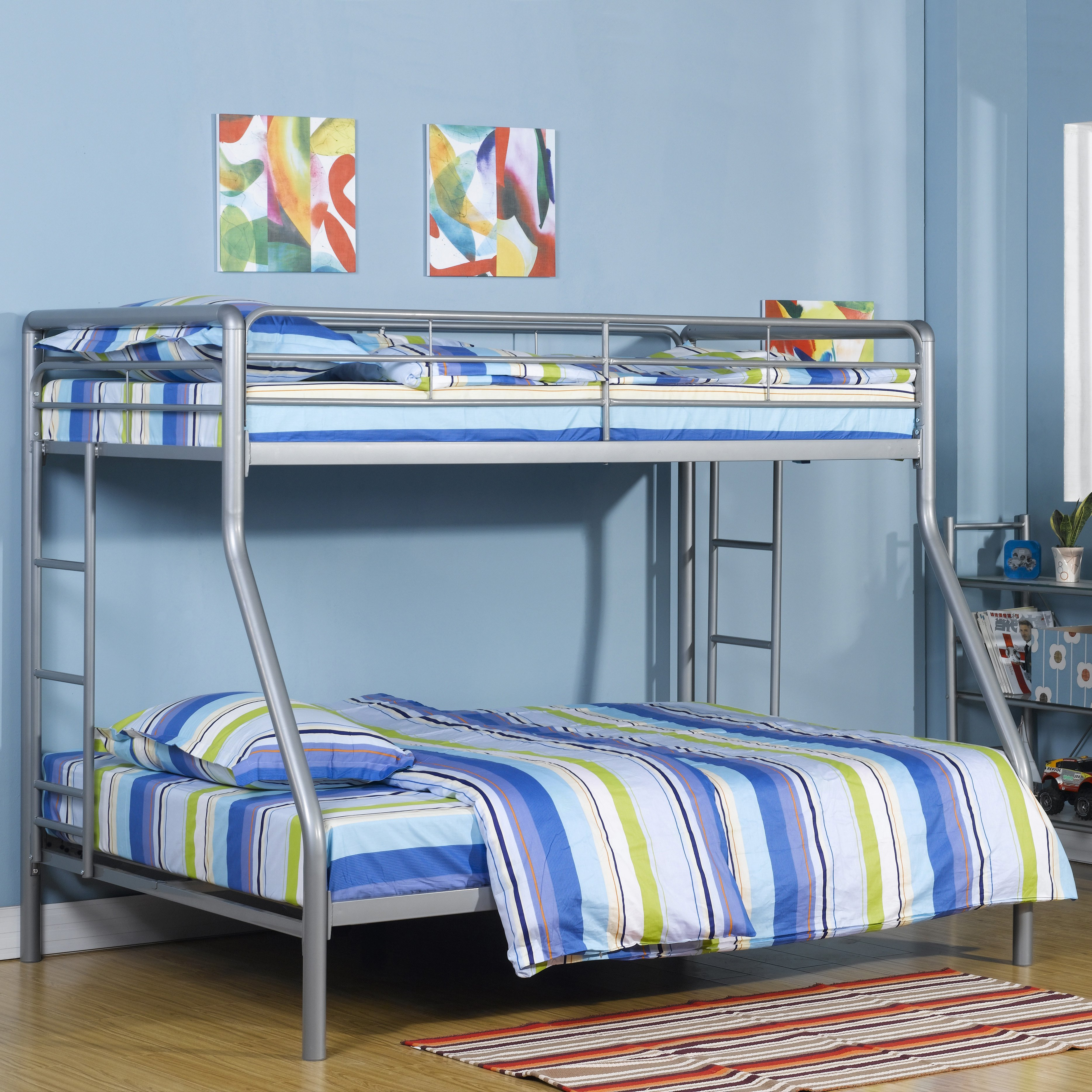 DHP Ambrose Twin over Full Bunk Bed by Ameriwood Industries Inc