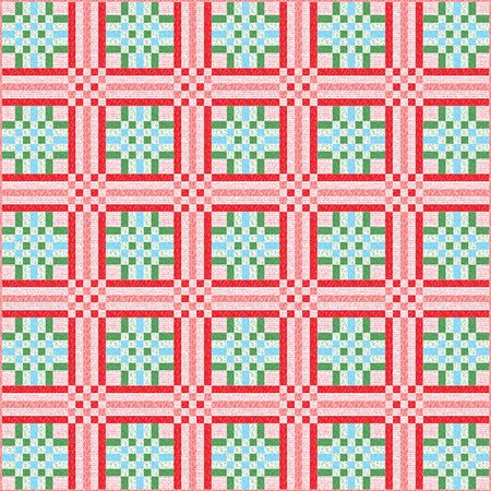 Mad for Plaid Quilt Pattern by Stacy Iest Hsu (Plaid Quilt Patterns)