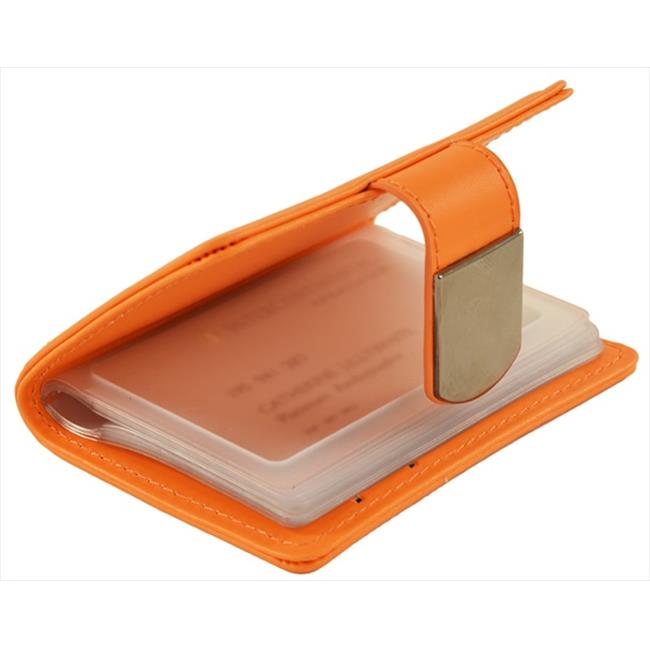 Catherine Lillywhite GG060OR 4. 25 X 3 inch Orange Credit Card Holder