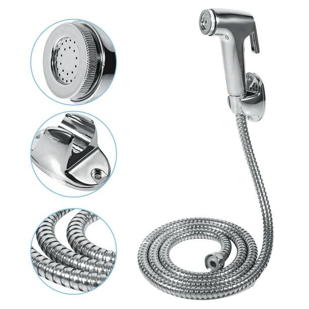 Greensen Bathroom Handheld Toilet Bidet Shower Sprayer Hose Holder Wall Bracket Set Bidet Sprayer Bidet Toilet Walmart Com Walmart Com