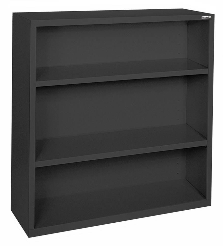 Red Sandusky Lee BA10341230-01 Elite Series Welded Bookcase 12 x 30 x 36