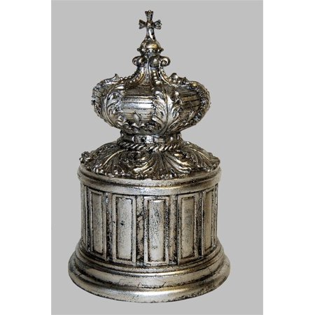 Accessory Set Finish - Crown Box Table Top Accessory in Shimmer Finish - Set of 2