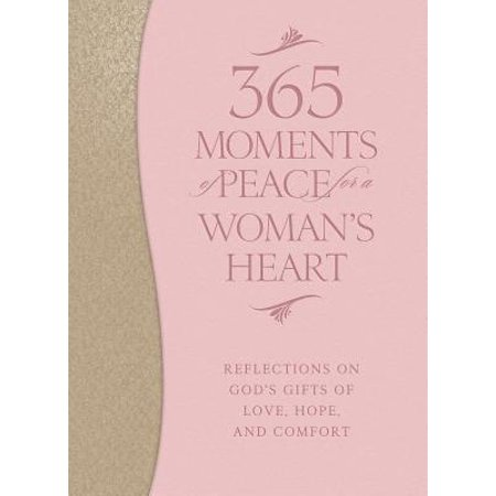 Moments Gift Set (365 Moments of Peace for a Woman's Heart : Reflections on God's Gifts of Love, Hope, and Comfort )