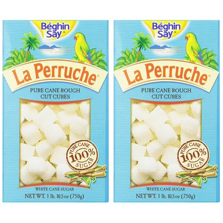 La Perruche White Cane Sugar Cubes from France 2 pack 2x26.4oz