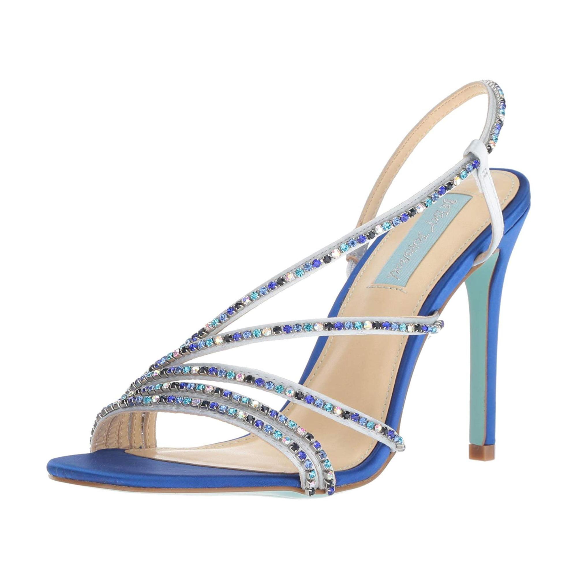 45317e6da Blue by Betsey Johnson Women s Sb-aces Heeled Sandal