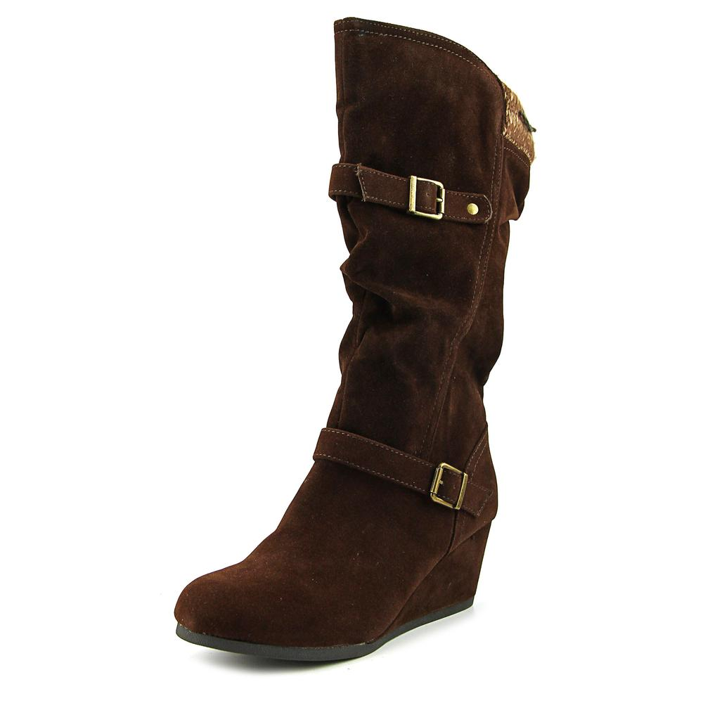 Jellypop Telly   Round Toe Synthetic  Mid Calf Boot