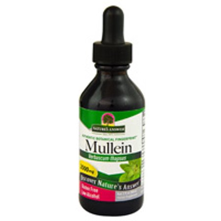 Mullein Leaf Extract - 2 fl. oz (60 ml) by Nature's Answer