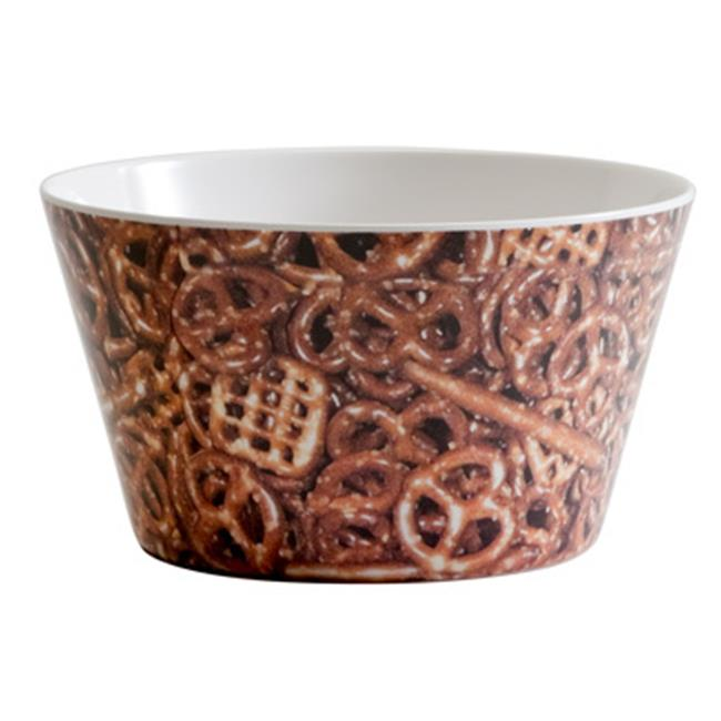 Bulk Buys Melamine Pretzel Bowl - Case of 24