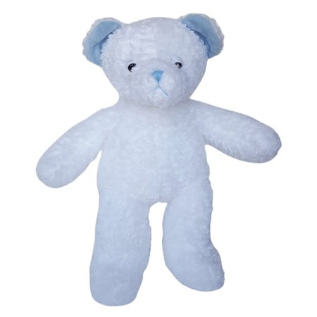 Record Your Own Plush 16 inch Blue Nap Bear - Ready To Love in a Few Easy Steps