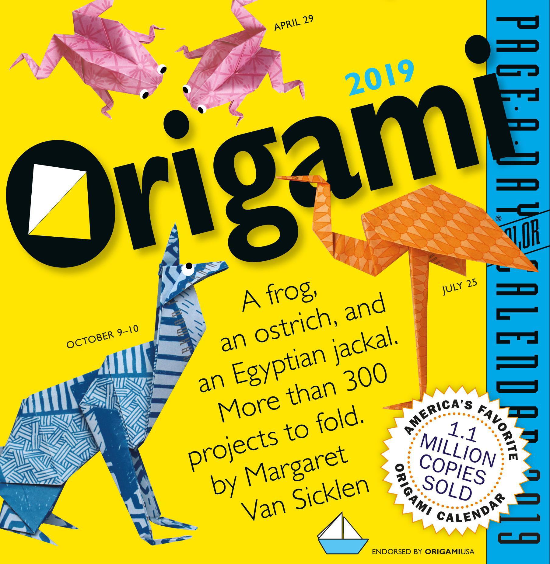 Mustard Origami Page Marker: Amazon.de: Bürobedarf & Schreibwaren | 1854x1807
