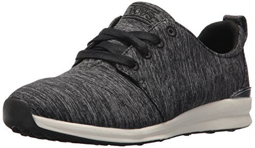 BOBS from Skechers Women's BOBS Phresh-Top Spot Sneaker, Black, 9.5 M US