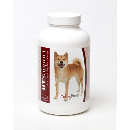 Healthy Breeds Dog Urinary Tract Support Cranberry Chewables for Shiba Inu 75 Count