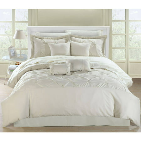 Chic Home Veronica 8 Piece Embroidered Comforter Set