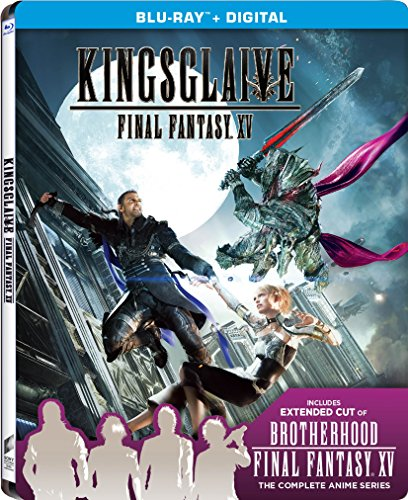 Final Fantasy 15-kingsglaive W steelbook [blu Ray ultraviolet] (Sony Pictures) by Sony Pictures
