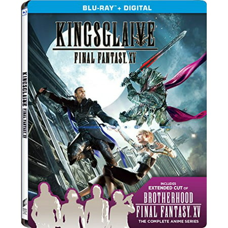 Final Fantasy 15-kingsglaive W/steelbook [blu Ray/ultraviolet] (Sony Pictures) (Sony Pictures Home Entertainment)