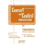 Rubank Educational Library: Concert and Contest Collection for Trombone: Solo Book Only (Other)