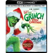 Dr. Seuss' How The Grinch Stole Christmas (Grinchmas Edition) (4K Ultra HD + Blu-ray + Digital HD)