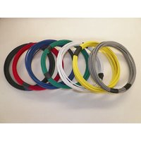 12 GXL HIGH TEMP AUTOMOTIVE POWER WIRE 7 SOLID COLORS 25 FEET EACH 175 FT TOTAL